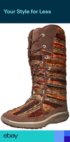 5c5f8a1bffe6 Merrell PECHORA SKY Womens Espresso Spun Wool Lining Comfort Boots