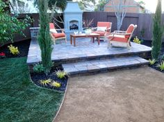diy network yard crashers | Mike Todd & Sons Concrete Artisans shared Clean Cut Landscape 's photo ...
