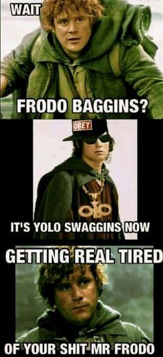 Lord of the swag. Omg wtf!!!! Haha lmao