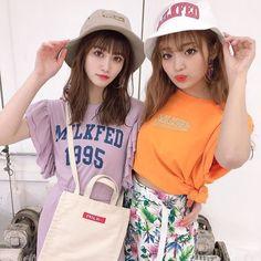 Popteen, Gyaru, Cute Girls, Kawaii, Instagram, Fashion, Toddler Girls, Moda, Fashion Styles