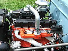 A blown 292 chevy 6 cylinder Rc Motors, Chevy Motors, Chevy Nova, Chevy C10, Old Trucks, Chevy Trucks, Motor Chevrolet, Gm Car, Classic Trucks