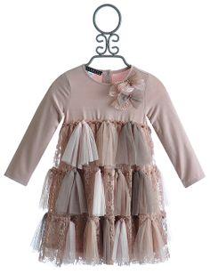 Biscotti Twist of Fate Little Girls Dress in Tulle $69.00