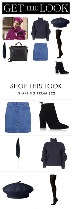"""""""Untitled #802"""" by campbell765 ❤ liked on Polyvore featuring Just Because, STELLA McCARTNEY, Stuart Weitzman, Ann Demeulemeester, Balenciaga, SPANX, 3.1 Phillip Lim, GetTheLook and hats"""