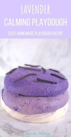 How do you make playdough? We show you a easy no cook playdough recipe. With calming lavender oil for kids and fun textures, this is a great sensory play. Easy Homemade Playdough Recipe, Cooked Playdough, Sensory Activities Toddlers, Calming Activities, Playdough Activities, Feelings Activities, Lavender Crafts, Lavender Oil, Lavender Recipes