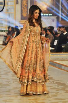 Erum Khan Collection at Pantene Bridal Couture Week 2013 Day 2