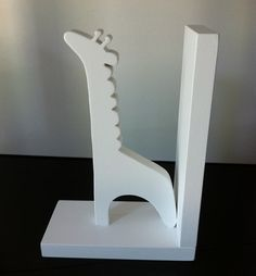 Giraffe Bookend  Price is for one bookend  by ProfessorFinley, $15.00