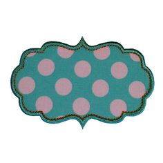 Looking for something adorable to applique? Introducing...    CHARLOTTE FRAME by Big Dreams Embroidery.    This design is perfect for showing