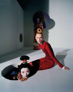 """Photographer Tim Walker first came to Japan: photographed modern Ukiyo-e for the British version of """"VOGUE"""" 18"""