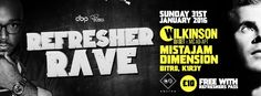 SOTONIGHT | Southampton Refreshers Ball 2016: Wilkinson, Mistajam, Dimension @ Switch | January 2016 - http://www.sotonight.net/event-tickets/southampton-refreshers-ball-2016-wilkinson-mistajam-dimension-switch-january-2016/  Switch presents: Refreshers Rave 2016 with Wilkinson, Mistajam & Dimension FREE ENTRY with Refreshers Pass 2016 BUY TICKETS Lineup: Wilkinson (DJ Set) feat. MC AD-APT Mistajam Dimension BITR8 & K1R3Y