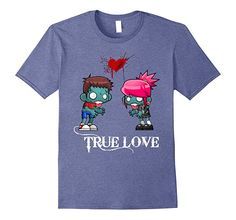 Amazon.com: Zombie True Love T-Shirt: Clothing