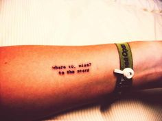 """where to, miss?""  ""to the stars."" obsessed with this titanic tattoo :)"