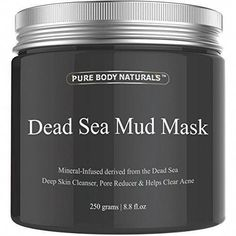Shop for Pure Body Naturals The Best Dead Sea Mud Mask, Fl. - Dead Sea Mud Mask Best For Facial Treatment, Minimizes Pores, Reduces Wrinkles, And Improves Overall Complexion. Starting from Compare live & historic beauty prices. Organic Skin Care, Natural Skin Care, Natural Beauty, Natural Face, Natural Oils, Dead Sea Mud, Chocolate Slim, Facial Treatment, Beauty