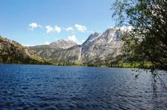 Silver Lake Campground in California, near Mammoth