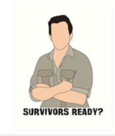 Survivor CBS Jeff Probst- I'm ready, Jeff! Survivor Theme, Survivor Tv, Jeff Probst, Ipad Case, Ipad 4, Best Tv Shows, Fitness Models, How To Memorize Things