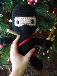 Download Ninja Amigurumi Pattern (FREE)