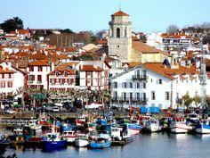 Saint-Jean-de-Luz: Puerto pesquero en el corazón de la ciudad - France-Voyage.com