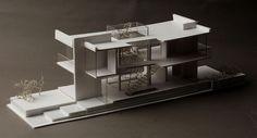 Machete on Behance Architecture Student, Concept Architecture, Residential Architecture, Amazing Architecture, Interior Architecture, Fallout 4 Settlement Ideas, Buildings Artwork, Wall Mounted Desk, Casa Patio