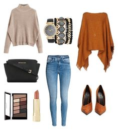 """""""Untitled #1"""" by sunseth on Polyvore featuring Jessica Carlyle, MICHAEL Michael Kors, Balmain, Axiology and Eva Fehren"""