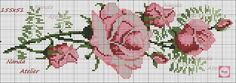 This Pin was discovered by Mar Cross Stitch Bookmarks, Beaded Cross Stitch, Cross Stitch Rose, Cross Stitch Flowers, Cross Stitch Charts, Cross Stitch Embroidery, Cross Stitch Patterns, Christmas Embroidery Patterns, Free To Use Images