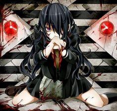 Im Losing My Mind, Lose My Mind, Losing Me, Horror, Anime, Art, Manga Girl, Art Background, Kunst