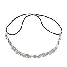 Lux Accessories Pave Crystal Bride Bridal Bridesmaid Wedding Stretch Headband * Read more reviews of the product by visiting the link on the image.