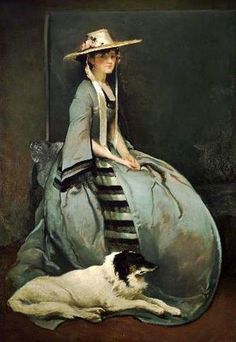 John White Alexander (1856 – 1915)Aurora Leigh