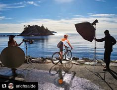 Behind the scenes by @erichsaide :  BTS Image 2/2 of previous post for @originalgingeragency and @drinkrefresh shot in Whytecliff Park.  @erichsaide  Assistant: @kane_hopkins Model: @pedallingyogi @profotousa . . . . #shareyourlighting  #famousbtsmag #iso1200 #profotob1 #bts #behindthescenes #ocean #nikonphotography #betterwhenyoutether #shareyourlighting #photoflex #whytecliffpark #tbt #photoshoot #photooftheday #vancouver #vancouverphotographer #vancouverisawesome #advertisingphotography…
