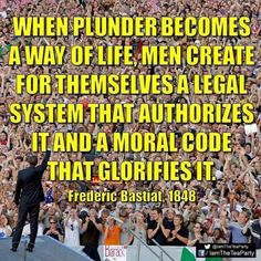 Plunder as a way of life.