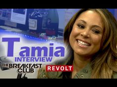 Tamia Interview at The Breakfast Club (5/7/2015)