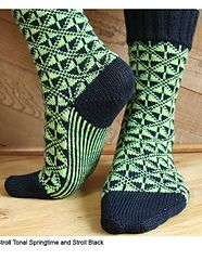 Ravelry: Art Deco Socks pattern by Camille Chang