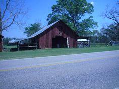 Barn on an Alabama backroad