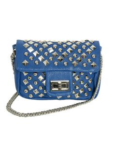 Mini Studded Crossbody Bag from WetSeal.com