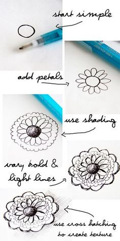 Zentangle Patterns Step By Step | Found on flickr.com