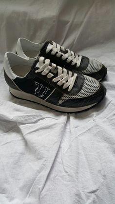 Neu Np120€ Sneaker Trussardi Jeans gr.38