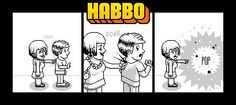 -pokes- Don't poke too hard or they may just go…. (pop) http://www.habbo.com/