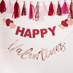 Slinger Happy Valentine Hey Good Looking Ginger Ray | Partydeco.nl
