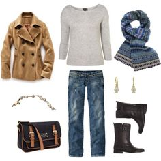 Kate Spade Bag and J.Crew Short Buckle Boots