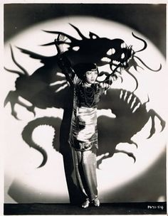 photo noir et blanc : Anna May Wong, 1930s, dragon♥