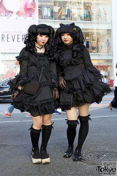 5. #Gothique Lolita - 14 mode #japonaise sous-cultures qui vous #comblera à…
