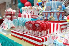 Carnival Birthday Party Ideas