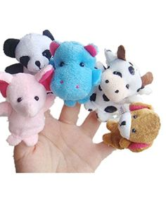 Leegor 10pcs Animal Finger Puppet Plush Child Baby Early Education Toys Gift Christmas Gift *** Click image for more details.Note:It is affiliate link to Amazon.
