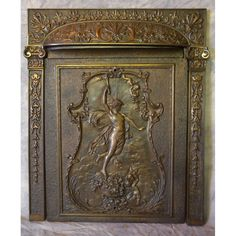 fireplace cover | Coal burning fireplaces of the early 1900's ...
