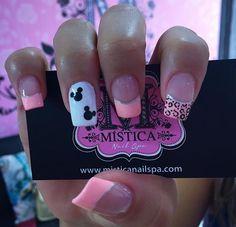 My Beauty, Hair Beauty, Mickey Nails, Finger, Nail Time, Rainbow Nails, Nail Spa, Nail Trends, Shellac