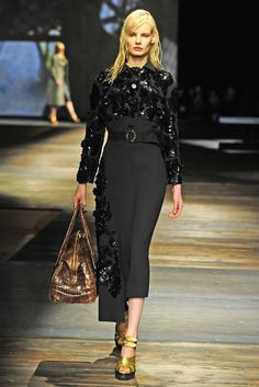 Prada RTW Fall 2013 - Slideshow - Runway, Fashion Week, Reviews and Slideshows - WWD.com