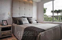 Quarto casal empreendimento Ideale Residencial / Ideale Residencial Master Bedroom - 3