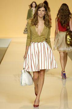 Salvatore Ferragamo Spring 2007 Ready-to-Wear Fashion Show - Luca Gadjus
