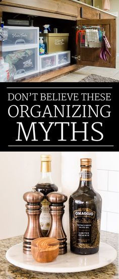 Wish your home was more organized? These myths could be holding you back.