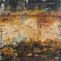 """Colors on Rocks & Ledges 24""""x24""""  Available @ UGallery.com"""