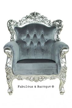 Belle de Fleur Chair -just a mere $1500 sitting chair... Literally I think I just found my throne...ha <3