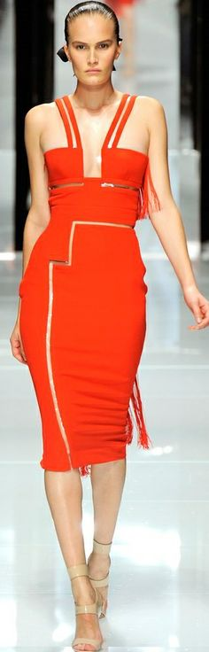 Versace | Spring 2011 Ready-to-Wear Collection